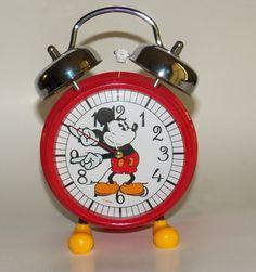 Mickey Mouse Alarm Clock Collectible