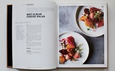 beautiful simple lots of white space, easy to read, description of recipe i love the white boarder too