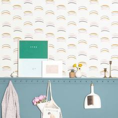 Chasing Paper's designs are colorful. Wall Tiles, Gift Wrapping, Wall Decor, Wallpaper, Projects, Urban, Color, Stylish, Diys