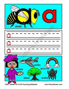 Alfabeto Libro de Trabajo - ABC Workbook in Spanish from Mister Kindergarten on TeachersNotebook.com (56 pages)  - Letter practice in Spanish!