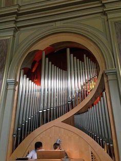 Costa Valle Imagna (Bergamo-Italy), organo Zanin II/13