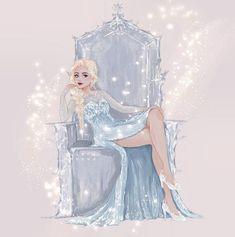 Disney Canvas Art, Disney Artwork, Disney Fan Art, Disney Princess Art, Disney Princess Pictures, Disney Films, Disney Pixar, Disney Characters, Anna Et Elsa