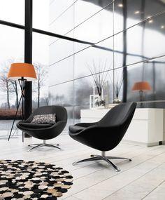 Moderne Designersessel von BoCOncept * ideas for livingroom * Wohnzimmereinrichtung  * minimalistischer Einrichtungsstil