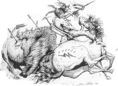 Buffalo Attack