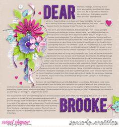 Dear Brooke (2 pager) - Sweet Shoppe Gallery
