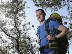 Youth liaison officer Constable Tim Keary is one of 33 police officers and other emergency services workers who will walk the Kokoda Track before taking part in an Anzac Day Dawn Service at the Bomana War Cemetery at Port Moresby. Picture: DAVE SWIFT