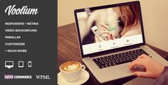 Voolium - Flexible Multi-Purpose Wordpress Theme - Creative WordPress