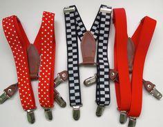 Boy SuspendersToddler Patterned by pinwheelsnpixies on Etsy, $9.50