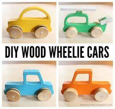 DIY wood cars