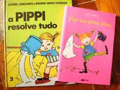 Pippi das Meias Altas da autora sueca Astrid Lindgren