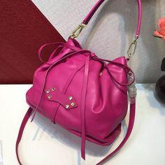 Miu Miu Phenix Calf Leather Shoulder Bag 5BH092 Black 2018   Miu Miu ... a31d517251
