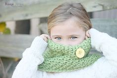 Crocheted  Cozy Cowl in Clover Photo Prop by SparkleberryCrafts, $27.00