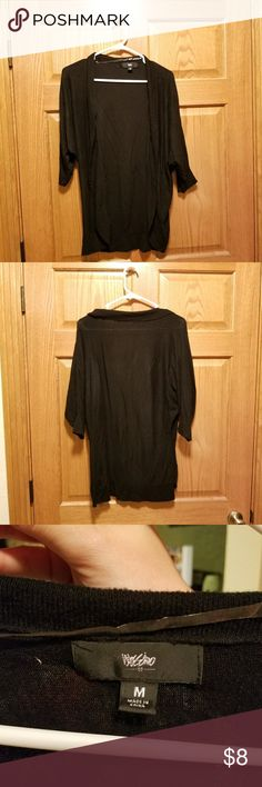 Black cardigan Black 3/4 sleeve. Great shape and would look great in the office or over a dress for an event. Mossimo Supply Co. Tops Tunics