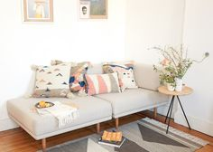 Good sofa set-up for small apartments