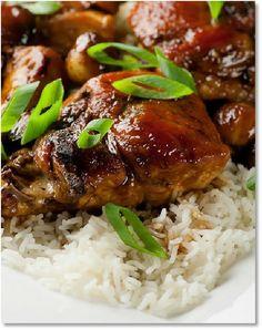 Low FODMAP Sticky Caramel Chicken  -  gluten free  http://www.ibssano.com/low_fodmap_recipe_sticky_caramel_chicken.html