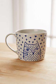 URBAN OUTFITTERS_Milo The Cat Mug