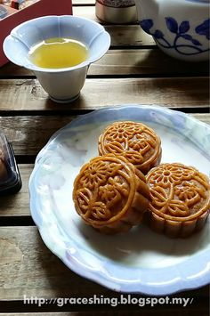 Moon Cake, Chinese Food, Jelly, Waffles, Cake Recipes, Ice Cream, Baking, Breakfast, Desserts