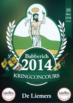 Tijdens Schuttersdag is de flyer voor Kringconcours De Liemers 2014 in #Babberich #DLHG onthuld. Het Kringconcours vindt op 18 mei 2014 plaats. via twitter @Gildestjan.