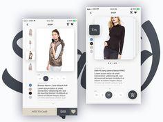 Online store - Squid UI Kit by Joshua