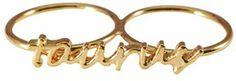 Taurus Knuckle Ring #Zodiac