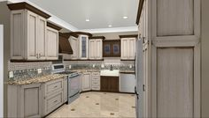 Kitchen Room:New Design Kitchen Astounding U Shape Kitchen Decoration With White Wood Kitchen Cabinet Along With Recessed Light And 3d Kitchen Plan Wonderful Images Of Kitchen And Decoration 2017 Outstanding L Shape Kitchen Decoration Design Ideas