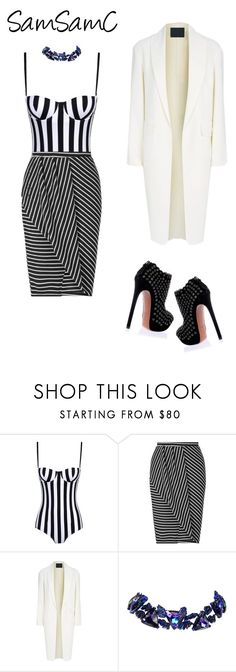 """""""Untitled #209"""" by samchoo ❤ liked on Polyvore featuring Dolce&Gabbana, Miss Selfridge, Alexander Wang, Christian Lacroix and Alaïa"""