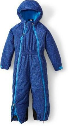 Build snowmen, sled and stay warm! The kids' REI Timber Mountain Snowsuit #REIgifts