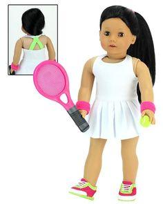 "Sophia/'s Soccer net ball /& playing field for 18/"" American Girl Dolls"