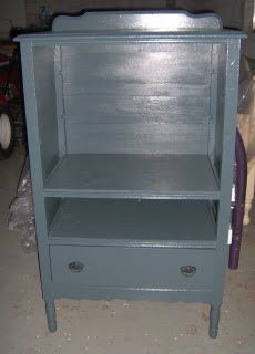 My Repurposed Life™: Chest of drawers to tv stand