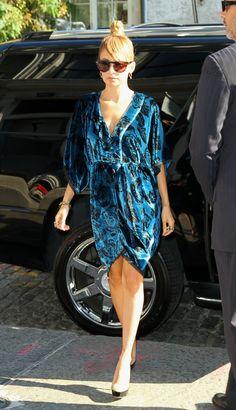 Nicole Richie's NYC Fashion