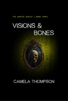 I am loving the cover for Visions & Bones designed by Colin Brown. What do you think?