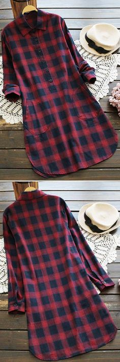 Plaid World, $25.99. Free Shipping! Plaid pattern itself is the highlight for the fall chic look. It's vibrant, cute and it is bound to catch everyone's attention.