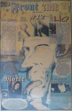 Front Zine Nº 12 publicado pelo Clube dos Quadrinheiros de Manaus no extinto Jornal do Norte em 13 de abril de 1996 com autoria de Fábio Prestes, João Vicente, Mário Orestes Silva, Bruno Cavalcante e Daniel Dante.