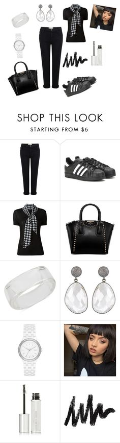 """All in all..."" by margaret-ann-robinson on Polyvore featuring Current/Elliott, adidas Originals, Salvatore Ferragamo, INC International Concepts, DKNY and Givenchy"