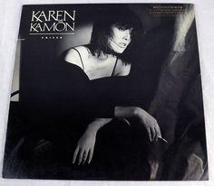 Karen Kamon 1987 Voices Promo Vinyl LP Album Music Flashdance ATCO90575-1 MT/NM #ElectronicRock1980sSynthPopPopRock