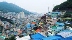 This Korean Slum in Busan Turned into a Tourist Hotspot