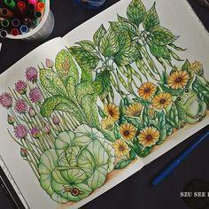 Instagram media enjoycoloring - #mariatrolle #blomstermandala #adultcoloringbook…
