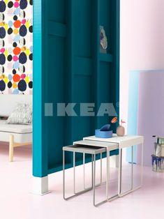 La nouvelle collection IKEA sera axée sur la modernité et les tons pastels Ikea New, Best Ikea, Ikea Nesting Tables, Hacks Ikea, Table Haute, Ikea Furniture, Apartment Living, Apartment Therapy, Elle Decor