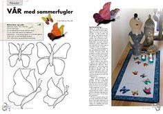 Quiltemagasinet 1-2016  Sommerfugler