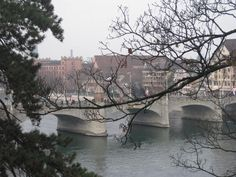 View of the Rhine in Basel via Todd's Travels