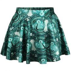 Woman pleated skirts Fashion designs