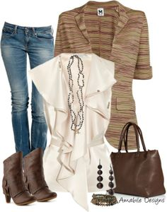 """""""Casual Classy"""" by amabiledesigns on Polyvore"""