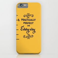practically perfect in every way, mary poppins, disney.. phone case, iphone, galaxy.. by studiomarshallgifts on Etsy