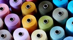 A range of dyed yarns for knitting, weaving and crocheting by Three Bears Yarn, based at Blackburn Yarn Dyers.