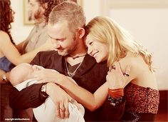 I <3 their little family. Charlie, Claire & Aaron.