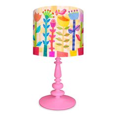 Spring Jazz Lamp - Spindle Base #giggle #bedroom #cute