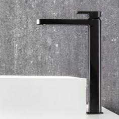 Fantini Mare Extended Basin Mixer Matte Black   Rogerseller Armaturen,  Schwarz, Badbecken, Badezimmer