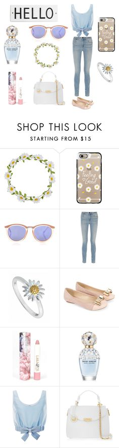 """""""Daisy Dream"""" by quirkycassi ❤ liked on Polyvore featuring interior, interiors, interior design, home, home decor, interior decorating, Carole, Casetify, Le Specs and Alexander Wang"""