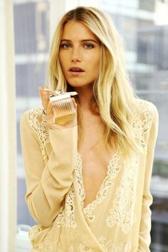 Model, actress, socialite and designer Dree Hemingway shares her It Girl beauty secrets