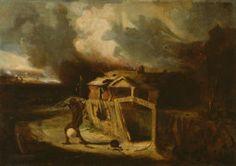 David Gilmour Blythe American, 1815-1865, Old Virginia Home